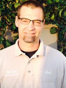 Matt Hooson Santa Barbara Pest Control Specialist