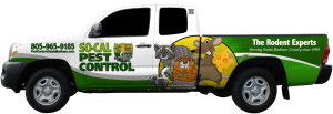 So-Cal Pest Control Service Truck