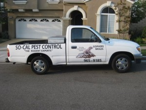 One of our Rodent Experts™ Pest Control Vehicles that serves Santa Barbara County